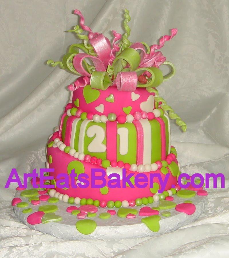 Decorating Ideas > Topsey Turvy Cakes Are Very Popular  Arteatsbakery ~ 125538_Fondant Cake Ideas Birthday
