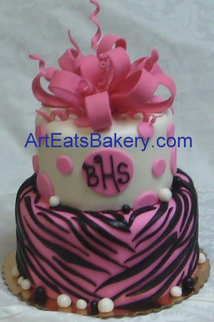 Sophisticated Fondant Cakes For Girls Arteatsbakery