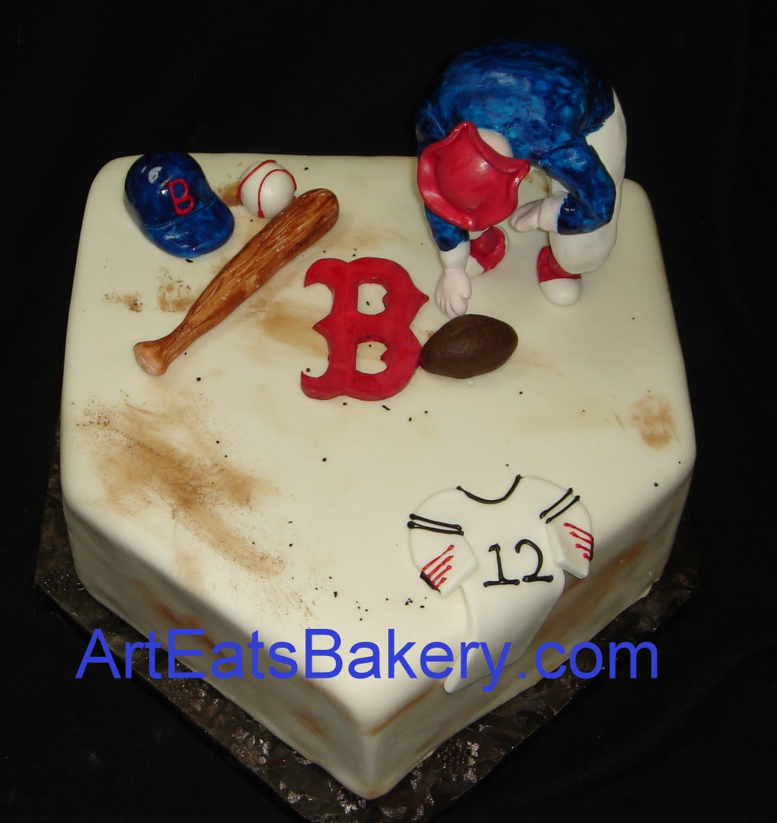 Happy Birthday Picture Of Cake Adult Boston Hat