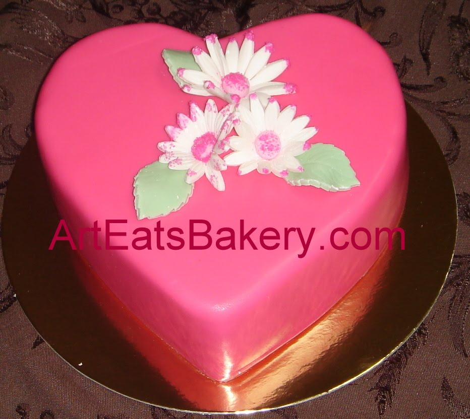 Valentines Heart fondant cake Special - 130.8KB