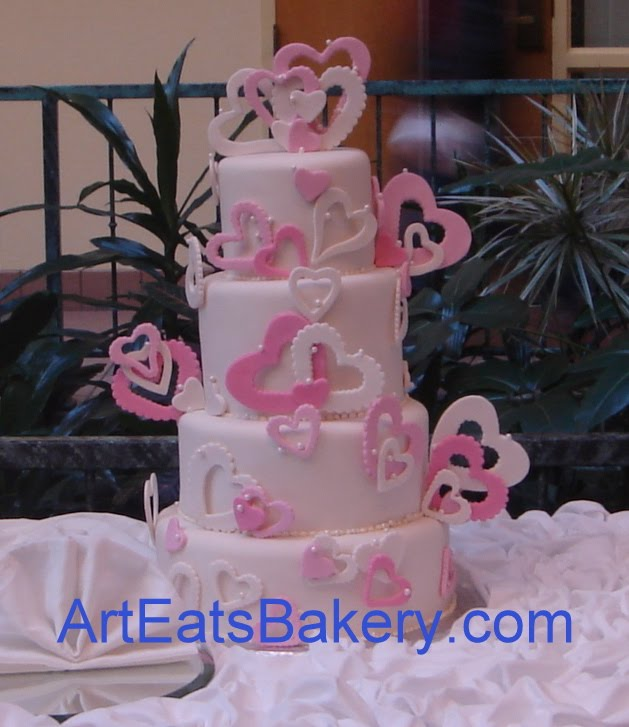 tall wedding cake structures 5 small wedding and 1 sweethearts cake arteatsbakery 20745