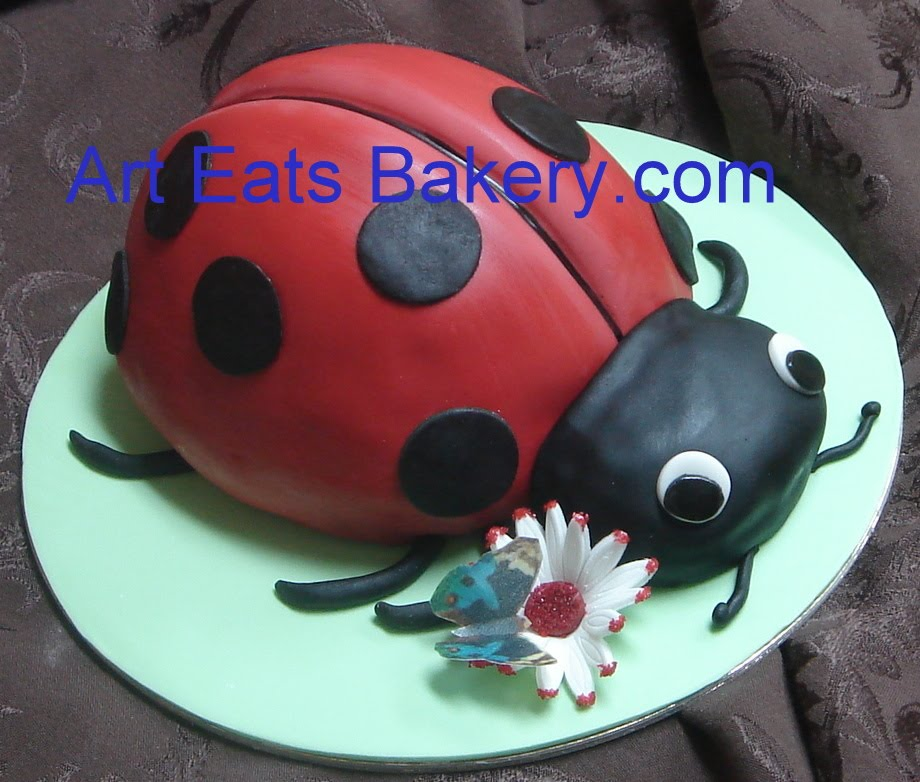 Ladybug Sheet Cake Ideas