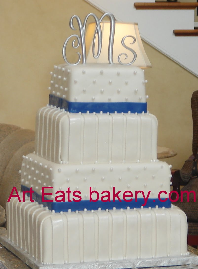 Custom Unique Fondant Wedding And Grooms Cakes By Art Eats Bakery