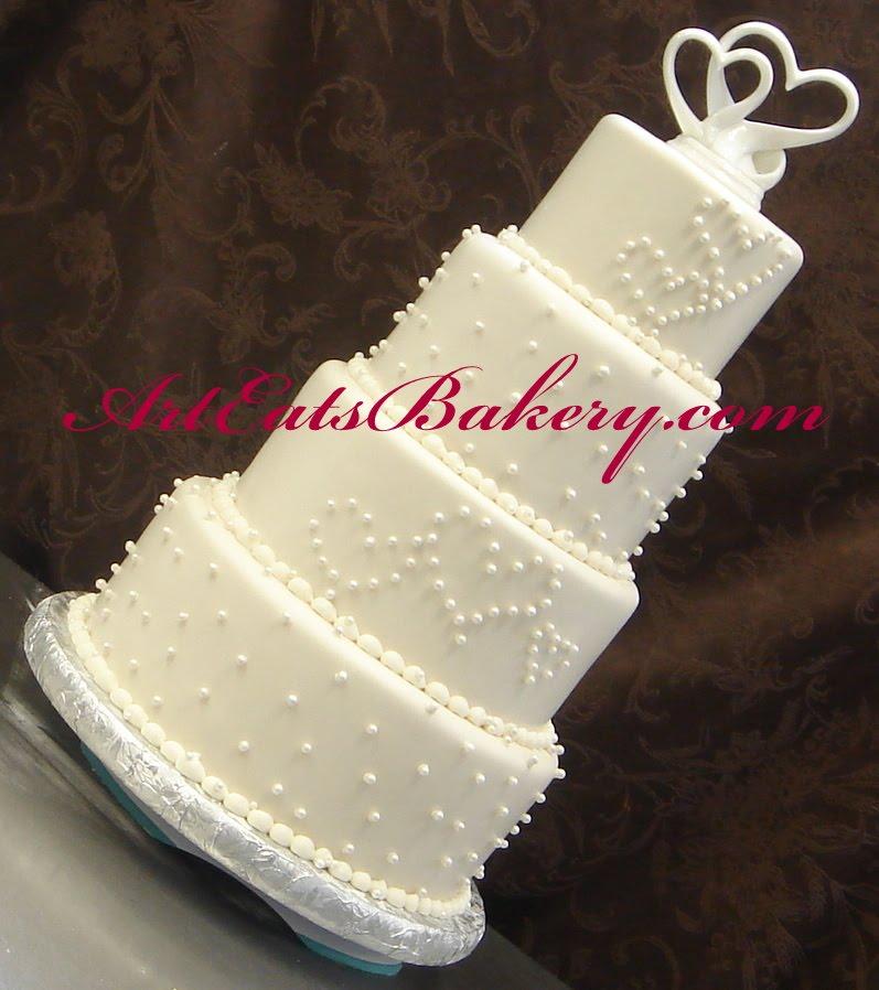 Custom wedding cake designs by Art Eats Bakery arteatsbakery