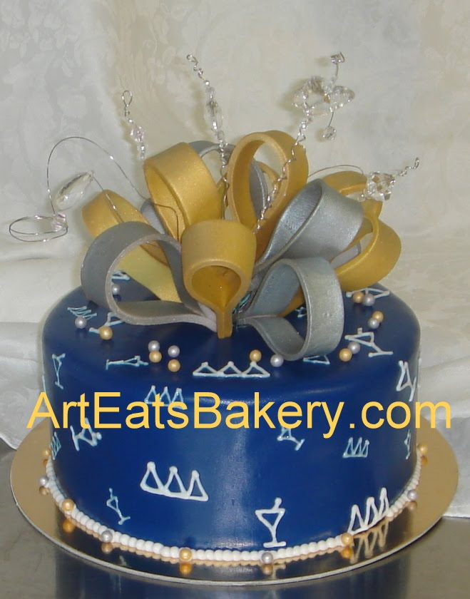 Silver Wires For Cakes