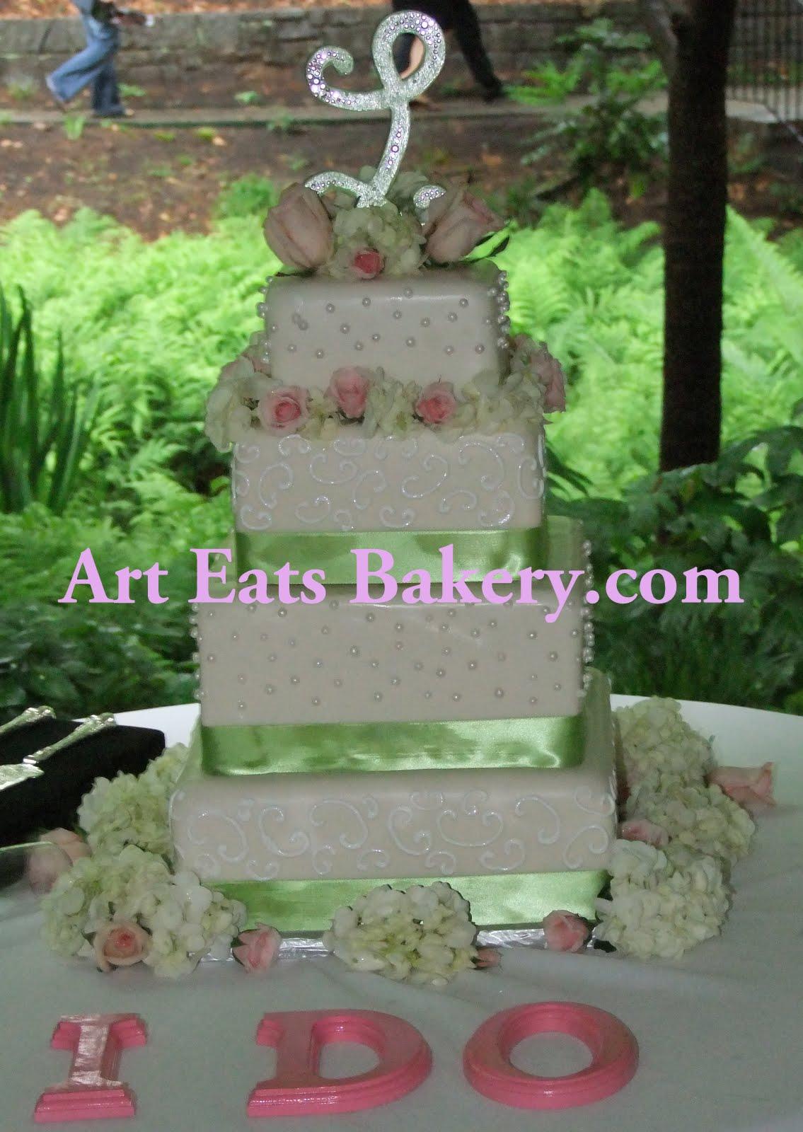 >Unique custom square wedding cake designs arteatsbakery