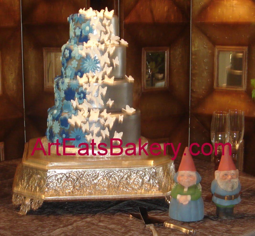 unique fondant wedding cakes