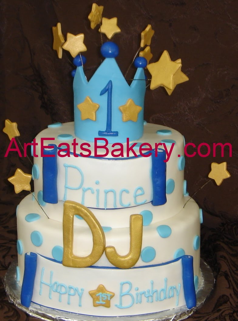 Cake With Crown For Boy : arteatsbakery Custom designed artistic cake pictures ...